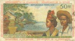 50 Nouveaux Francs type 1962 ANTILLES FRANÇAISES  1962 P.06a TB+
