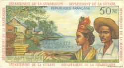 50 Nouveaux Francs ANTILLES FRANÇAISES  1962 P.06a TB+