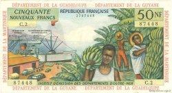 50 Nouveaux Francs type 1962 ANTILLES FRANÇAISES  1962 P.06a TTB+