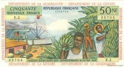 50 Nouveaux Francs ANTILLES FRANÇAISES  1962 P.06a SUP
