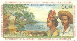 50 Nouveaux Francs ANTILLES FRANÇAISES  1962 P.06a SPL