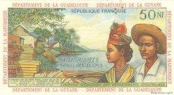 50 Nouveaux Francs type 1962 ANTILLES FRANÇAISES  1962 P.06s SPL