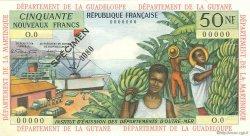 50 Nouveaux Francs type 1962 ANTILLES FRANÇAISES  1962 P.06s pr.NEUF