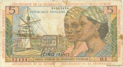 5 Francs type 1964 ANTILLES FRANÇAISES  1964 P.07a TB