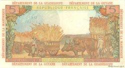 5 Francs type 1964 ANTILLES FRANÇAISES  1964 P.07a SUP