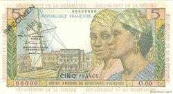 5 Francs type 1964 ANTILLES FRANÇAISES  1964 P.07s SUP