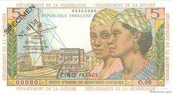 5 Francs ANTILLES FRANÇAISES  1964 P.07s NEUF