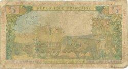 5 Francs type 1964 ANTILLES FRANÇAISES  1966 P.07b B