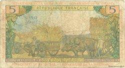 5 Francs type 1964 ANTILLES FRANÇAISES  1966 P.07b pr.TB