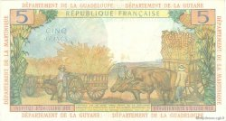 5 Francs ANTILLES FRANÇAISES  1966 P.07b TTB+
