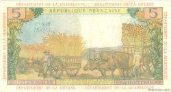 5 Francs type 1964 ANTILLES FRANÇAISES  1966 P.07b TTB