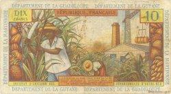 10 Francs type 1962 modifié 1964 ANTILLES FRANÇAISES  1964 P.08a B+