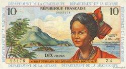 10 Francs type 1962 modifié 1964 ANTILLES FRANÇAISES  1964 P.08a TTB+