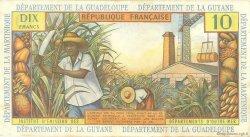 10 Francs type 1962 modifié 1964 ANTILLES FRANÇAISES  1964 P.08a SUP