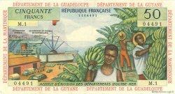 50 Francs ANTILLES FRANÇAISES  1964 P.09a TTB+