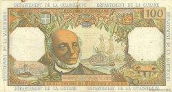 100 Francs ANTILLES FRANÇAISES  1966 P.10a TB