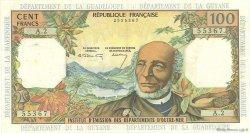 100 Francs ANTILLES FRANÇAISES  1966 P.10a TTB