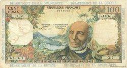100 Francs ANTILLES FRANÇAISES  1966 P.10b pr.TB