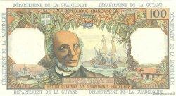 100 Francs ANTILLES FRANÇAISES  1966 P.10b SPL