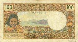 100 Francs type 1968 TAHITI  1969 P.23 TB
