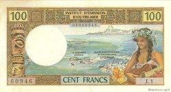 100 Francs type 1968 TAHITI  1969 P.23 TTB