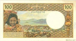 100 Francs TAHITI  1969 P.23 TTB