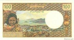 100 Francs type 1968 modifié 1972 TAHITI  1972 P.24b pr.NEUF
