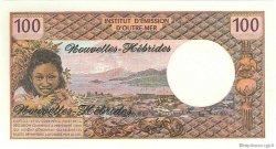 100 Francs NOUVELLES HÉBRIDES  1975 P.18c NEUF