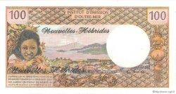 100 Francs type 1968 modifié 1972 NOUVELLES HÉBRIDES  1977 P.18d NEUF