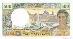 500 Francs type 1969 NOUVELLE CALÉDONIE  1990 P.60e NEUF