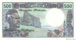 500 Francs NOUVELLES HÉBRIDES  1979 P.19c NEUF