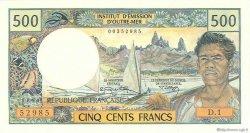500 Francs type 1969 TAHITI  1970 P.25a SPL