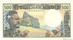 500 Francs TAHITI  1970 P.25a NEUF
