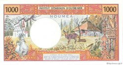 1000 Francs type 1968 modifié 1971 NOUVELLE CALÉDONIE  1990 P.64c NEUF