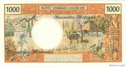 1000 Francs type 1968 modifié 1970 NOUVELLES HÉBRIDES  1970 P.20a NEUF