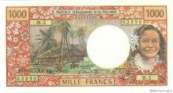 1000 Francs type 1968 modifié 1971 TAHITI  1971 P.27a pr.NEUF