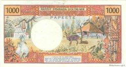 1000 Francs type 1968 modifié 1971 TAHITI  1985 P.27d TTB