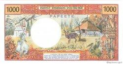1000 Francs TAHITI  1985 P.27d pr.NEUF