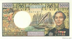 5000 Francs TAHITI  1971 P.28a pr.NEUF