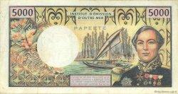 5000 Francs type 1970 TAHITI  1982 P.028c TB+