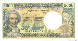 5000 Francs type 1970 TAHITI  1985 P.028d pr.SUP