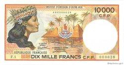 10000 Francs type 1986 POLYNÉSIE, TERRITOIRES D