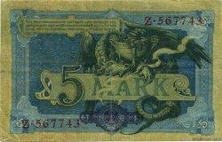 5 Mark ALLEMAGNE  1904 P.008a TTB