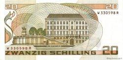 20 Schilling AUTRICHE  1986 P.148 SUP
