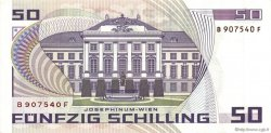 50 Schilling AUTRICHE  1986 P.149 SUP+