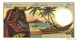 500 Francs COMORES  1976 P.07a pr.NEUF