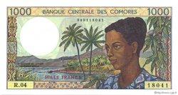1000 Francs COMORES  1994 P.11b pr.NEUF