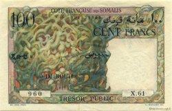100 Francs DJIBOUTI  1952 P.26 SUP+