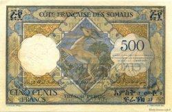 500 Francs DJIBOUTI  1952 P.27s SUP+
