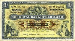 1 Pound ÉCOSSE  1960 P.324b TTB